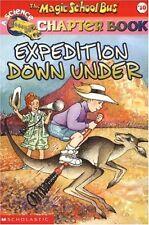 Expedition Down Under (Magic School Bus Book #10) by Rebecca Carmi