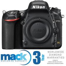 Nikon D750 FX-Format Full Frame DSLR with Mack 3 Year Diamond Warranty No Wifi