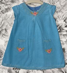 Girls Age 9-12 Months - Bishopston Organic Cotton Summer Dress