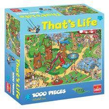 Thats Life Kids Playground 1000 Piece Jigsaw Puzzle 68 X 48cm Eco Goliath