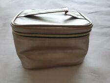💄NEW Avon Gold Vanity Case / Makeup Bag With Handle💄