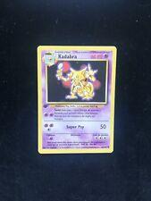 Carte Pokemon Kadabra 32/102 Set de Base Wizards Edition 1 FR Comme Neuf