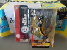 NIB NFL HINES WARD PITTSBURGH STEELERS MCFARLANE SERIES 7 FIGURE BLACK JERSEY