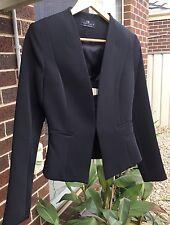 Brand New Cue Black Jacket Size 8