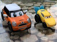 Disney Pixar Cars 3 Toy Car Splash Racers Cruz Ramirez + Mini Car Bundle Of 2