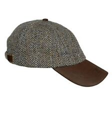 Hoggs of Fife Harris Tweed Baseball Cap Hat Country Hunting/Shooting