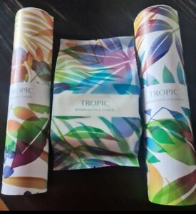 Tropic Skincare Smoothing Cleanser,Vitamin Toner& Bamboo Cloth!All Brand New!