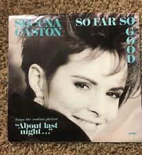 "Sheena Easton - So Far So Good from 1986 Movie ""About Last Night"" Pic Sleeve 45"