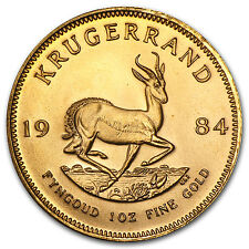 1984 South Africa 1 oz Gold Krugerrand BU - SKU #88673