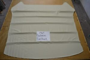 1965 65 FORD GALAXIE FASTBACK OFF WHITE HEADLINER USA MADE TOP QUALITY