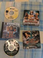 Age Of Empires Gold, 2, conquerors, mythology, and titans collection pc