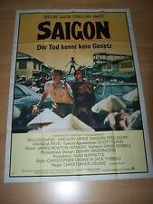 SAIGON - Kinoplakat A0 ´87 - Willem Dafoe GREGORY HINES Fred Ward SCOTT GLENN