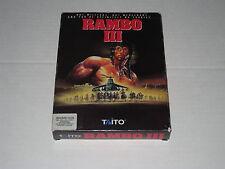 Rambo III  (PC, IBM, DOS,1989) Rare Game