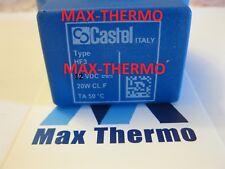 CASTEL  SOLENOID VALVE COIL HF3 9320/RD1 REPLACE HM3 12vdc castel 9120/rd1 20w