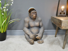 Large Resin Gavin the Gorilla Ornament, Sitting down Gorilla ornament