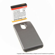 3800mAh Extended Battery for Samsung Galaxy Nexus L700 Sprint Black Cover