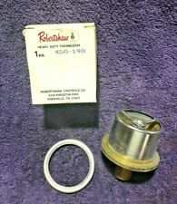 ROBERTSHAW 450-190 14539 HD THERMOSTAT CAT CUMMINS HERC IHC MACK WHITE WAUKESHAW