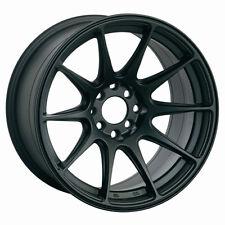 XXR 527 18x8 Rim 5x100/114.3mm +42 Black Wheels Fits Tuburon Mazda 3 Eclipse Rx8