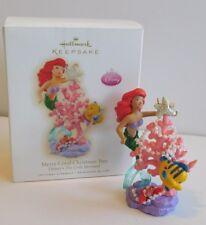 Hallmark Ornament 2009 Merry Coral Christmas * The Little Mermaid  **FREE SHIP**
