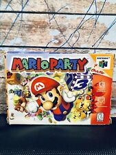 MARIO PARTY Nintendo 64 CIB Retro N64 Cart Game Luigi Bowser Peach Toad Yoshi US