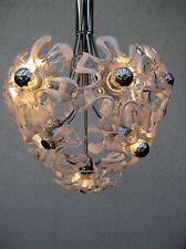 Superb Mazzega Chandelier   Murano  glass flowers  Sputnik  Ball  Very Rar