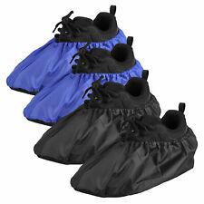 2 Pairs Waterproof Shoe Covers Washable Reusable Non Slip Overshoes Booties