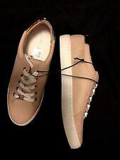 c77cccec4a189 Womens 9 M Liz Claiborne Warwick Blush Tennis Shoes Sneakers Rose Gold Trim  NEW!