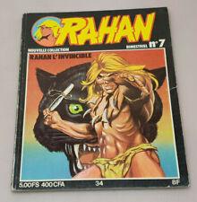 Rahan L'Invincible N°7 Comics 1979 Format Soft Cover Edition Valiant