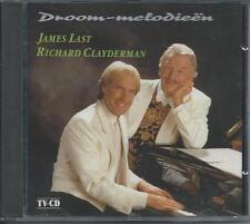 JAMES LAST & RICHARD CLAYDERMAN - Droom-melodieën Cd Album 12TR 1991 Holland