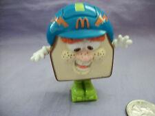 "1993 Otis McDonalds Happy Meal Transforming Sandwich to Football Player 2 3/4"""