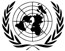 Stemma ONU Stikers Adesivo  (Araldica-Militaria)