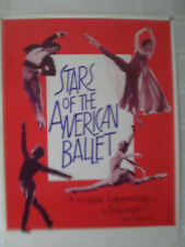 STARS OF THE AMERICAN BALLET POSTER