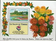 BLOC FEUILLET N° 16 NEUF XX  FRAICHEUR POSTALE - PARC FLORAL DE PARIS - 1994