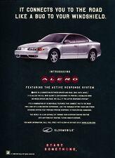 1998 Oldsmobile Alero - Response - Classic Vintage Advertisement Ad D180