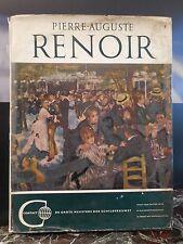 PIERRE-AUGUSTE RENOIR WALTER PACH 1960 ARTBOOK by PN