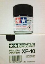 Tamiya acrylic paint. XF-10 Flat brown, 23ml.