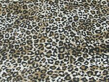 Animal Print Fabric Shower Curtain Cotton 32283
