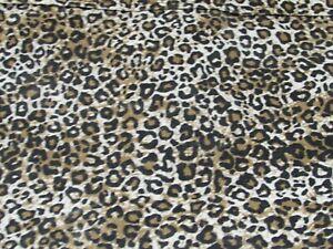 Animal Print Fabric Shower Curtain Cotton 32283