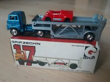 Eidai Grip Zechin Isuzu Racing Car Carrier #17 1:100 Japan Mint mit OVP