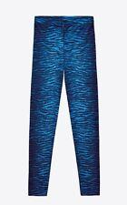 *BNWT* Kenzo x H&M Wool Leggings Blue Tiger Stripe Print-4