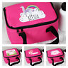 Personalised Name Girls Pink Children's School Lunchbox Back to school Lunch bag