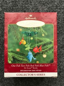 YOUR CHOICE - 2000 HALLMARK KEEPSAKE ORNAMENTS-SANTA, DR. SEUSS, ELWAY, SNOWMEN