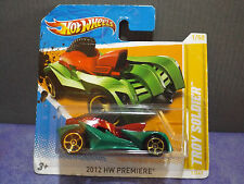 Hot Wheels TOY SOLDIER Rare 2012 HW Premiere car. Short card.
