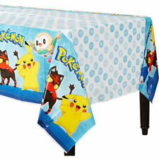Pokemon Core Plastic Table Cover Birthday Decorations Party Supply Pikachu
