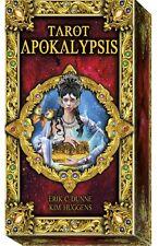 Tarot Apokalypsis NEW Sealed 78 Cards Stained Glass effect E. Dunne Kim Huggens