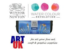 Cotman Watercolour Zip Brush Wallet Gift Set of 10 Artists paint brushes