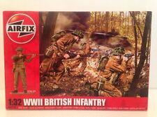 Airfix A02718 Segunda Guerra Mundial Infantería británica escala 1:32 nuevo 14 piezas Sin Pintar Oferta