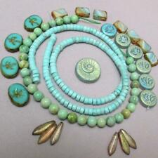 Variscite, Magnesite and Czech glass Collection