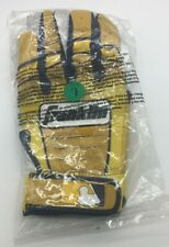 Franklin  Adult Large L Batting Gloves Yellow/White #2