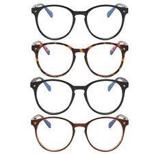 Oval Frame Goggle Computer Blue Light Blocking Eyewear Unisex Vintage Glasses